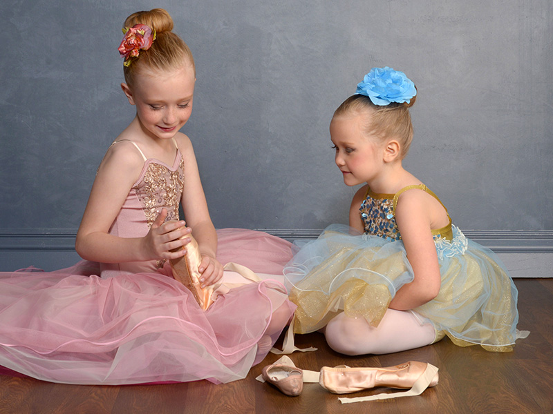dayton dance conservatory young ballerinas ballet shoes